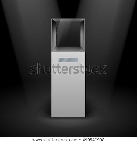 вектора пусто стекла черный jpg иллюстратор Сток-фото © Luppload