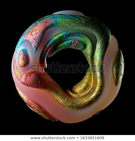 sferico · superficie · metallica · ripetizione · costruzione · industria · buio - foto d'archivio © mikko
