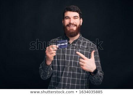 Para parmak doğru el yetişkin Stok fotoğraf © eldadcarin