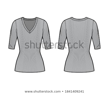 vector illustration template vector illustration of a blank sweater