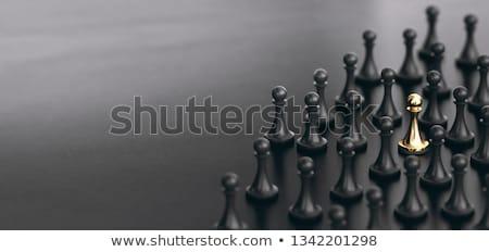 право · один · стороны · подвесной · ключевые - Сток-фото © 4designersart