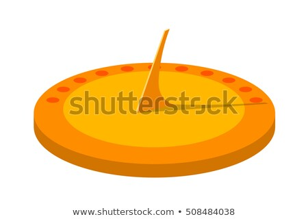 cartoon sundial stock photo © blamb