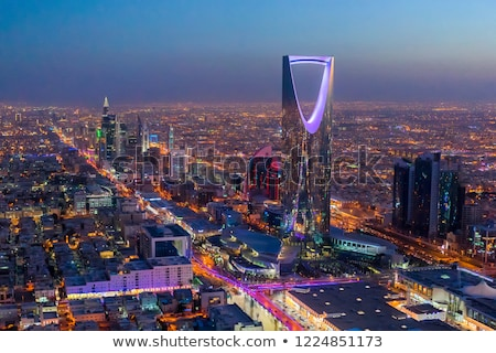 Krallık Suudi Arabistan örnek katlanmış bayrak Arapça Stok fotoğraf © flogel