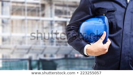 Artesão capacete negócio indústria trabalhador Foto stock © photography33