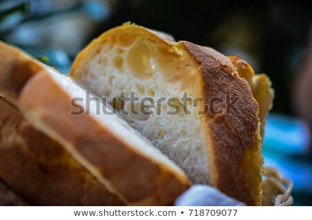 Round Loaf of Home made Bread Stock photo © pxhidalgo