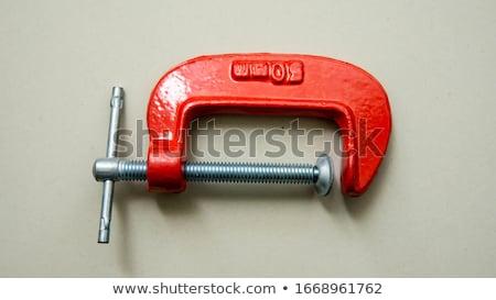 Carpenter's clamps Stock photo © smuki