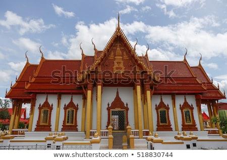 Buddhist temple gable at Thailand Stock photo © ssuaphoto
