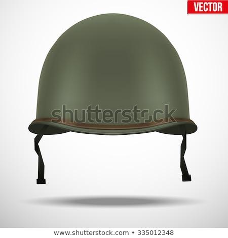 us army helmet stock photo © bigknell