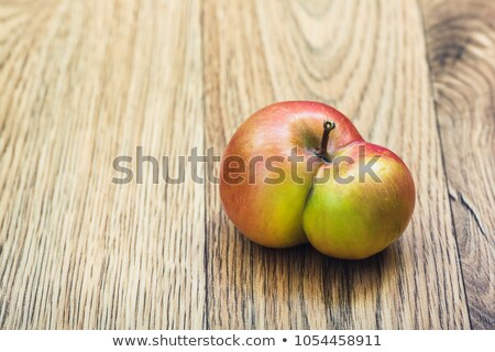 fresh apples with  deformations  Stock photo © meinzahn