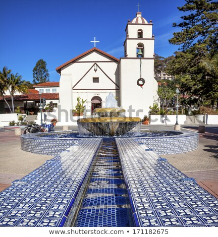 Mission San Buenaventura Ventura California  stock photo © billperry