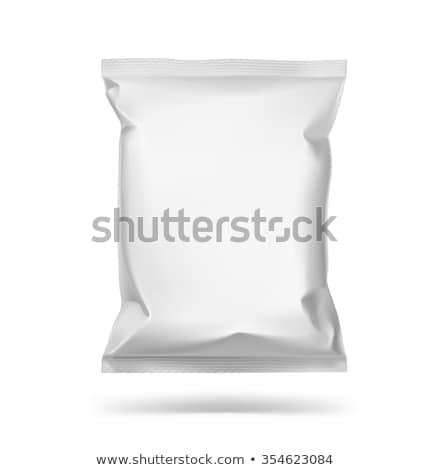 3D scatole bianco grigio finestra Foto d'archivio © Designer_things