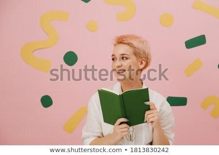 titok · könyv · iskola · biztonság · tudomány · tanulás - stock fotó © lightpoet