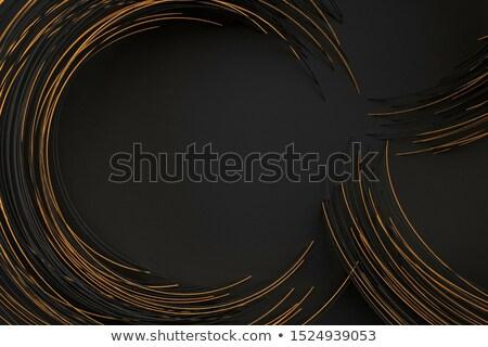 oro · pattern · gemme · illustrazione · sfondo - foto d'archivio © yurkina