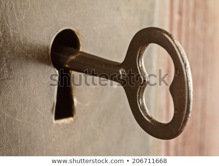 Rusty Doorknob Stock photo © gemenacom