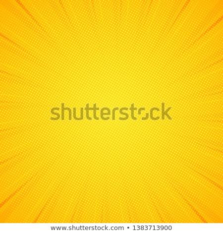 Soyut noktalı sarı doku iş dizayn Stok fotoğraf © karandaev