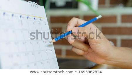 Mano pen iscritto appuntamento medico Foto d'archivio © Zerbor