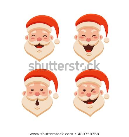 Noel · hediye · kutusu · sevimli · simgeler · kadın · sanat - stok fotoğraf © voysla