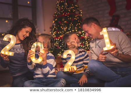 Woman Celebrate New Years or Christmas Party stock photo © Stephanie_Zieber
