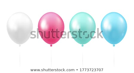 Colorful Balloon Set stock photo © Luseen
