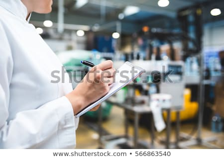 Stock fotó: Minőségellenőrzés · izolált · fehér · üzlet · toll · felirat