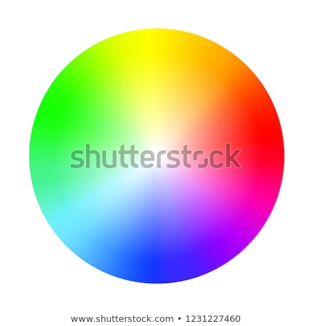 Kleur spectrum cirkel abstract vector eps10 Stockfoto © oliopi