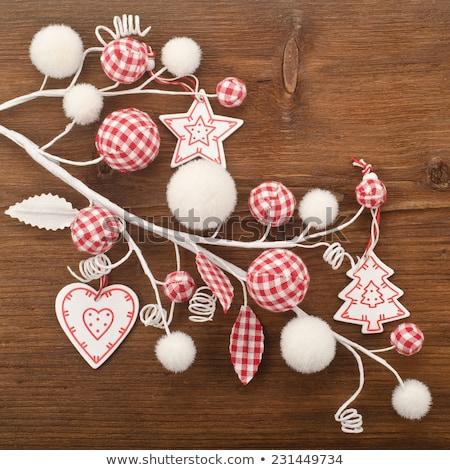 christmas · decoratie · verschillend · kleuren · vector · abstract - stockfoto © veralub