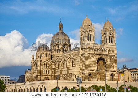 Byzantine Cathedrale La Major in Marseille Stock photo © CaptureLight