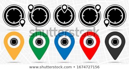 Time Duration Blue Vector Button Icon Design Set Stock photo © rizwanali3d