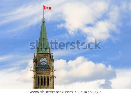 Torre vitória paz Otawa pormenor parlamento Foto stock © aladin66