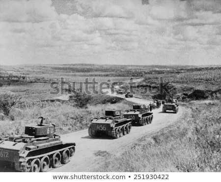 Soviet tanks of World War II Stock photo © artfotoss