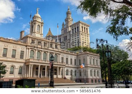 New York City hal illustratie afbeelding openbare domein Stockfoto © Stocksnapper