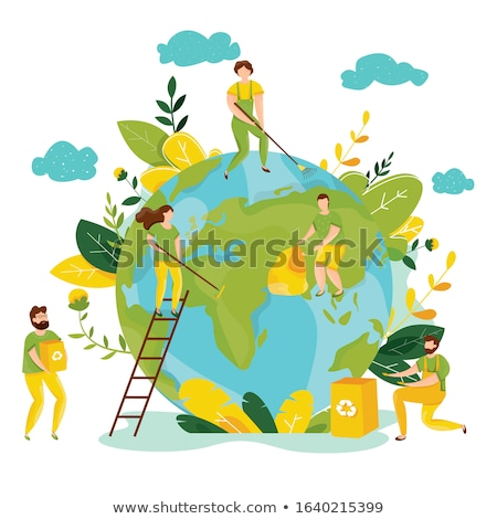 Stock photo: ecological banners