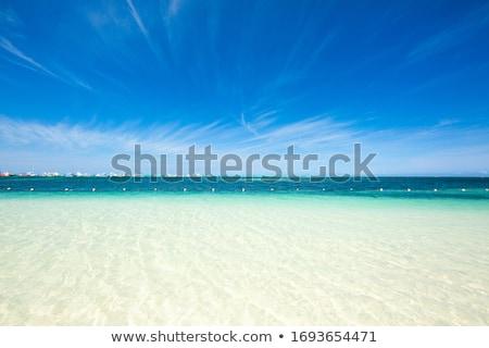 Tökéletes üdülőhely trópusi sziget part vonal Thaiföld Stock fotó © goinyk