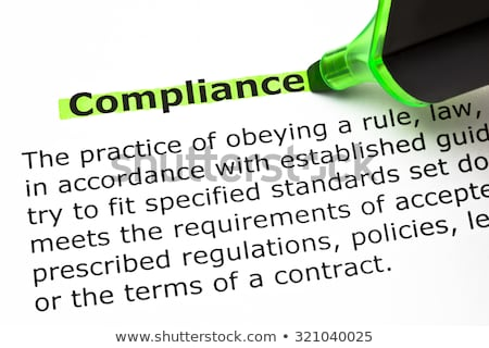 Compliance Definition Stock photo © ivelin