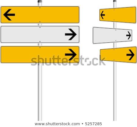 ニュース 言葉 道路標識 道路 にログイン 情報 ストックフォト © fuzzbones0