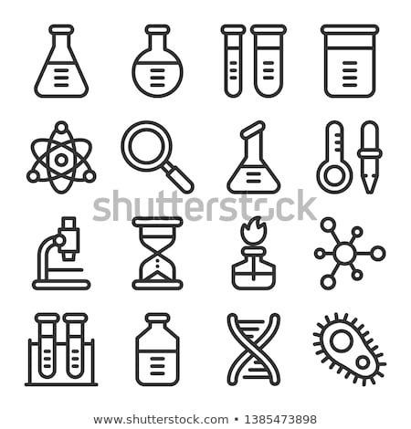 Medical and Research Icon Set Stock photo © solarseven