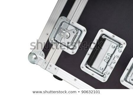 Fémes út tok izolált fém kerék Stock fotó © shutswis