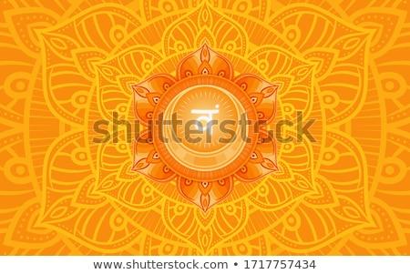 Chakra ilustración cuerpo salud relajarse energía Foto stock © adrenalina