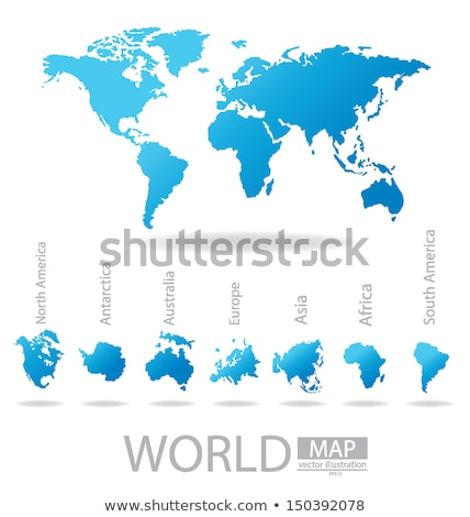 Earth Eurasia Africa Australia Antarctica Asia Europe Stock photo © studiostoks