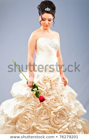 mode · model · bruid · jurk - stockfoto © artfotodima