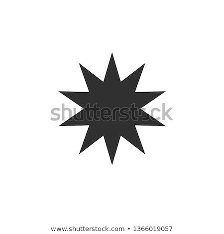 On Yıldız örnek beyaz okul sanat Stok fotoğraf © bluering