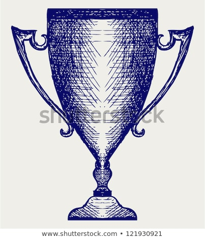 A simple sketch of a champion Stock photo © bluering