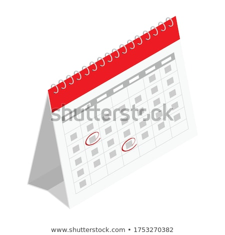 Icon calendar isometry stock photo © Oakozhan