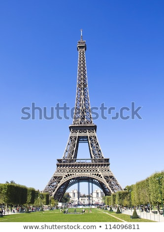 Eiffel tower isolated. Paris attractions. Landmark of France on  Stock photo © popaukropa