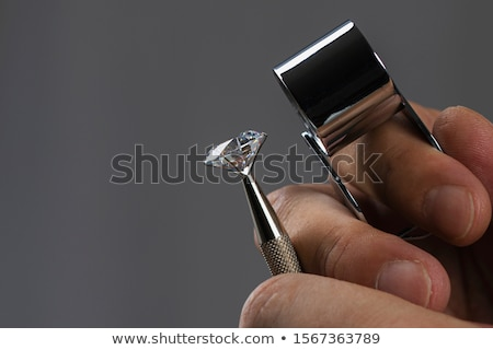 Brilliant diamond jewel Stock photo © AlexMas