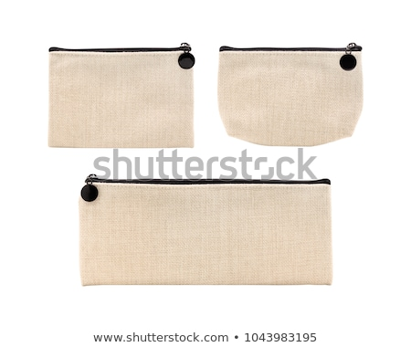 Shopping woven bag isolated on white background + clipping path. Stock photo © kayros