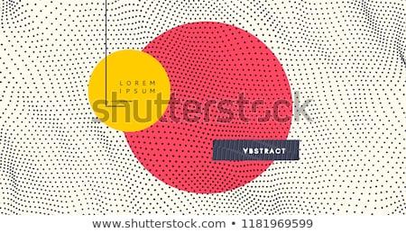 colorful circles dots pattern background Stock photo © SArts