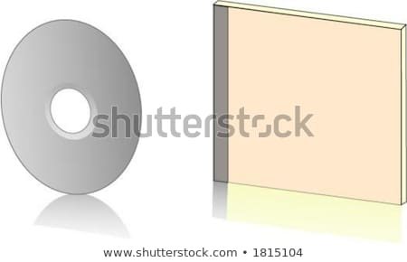 disk · kutu · beyaz · 3d · render · Internet · sanat - stok fotoğraf © spectral