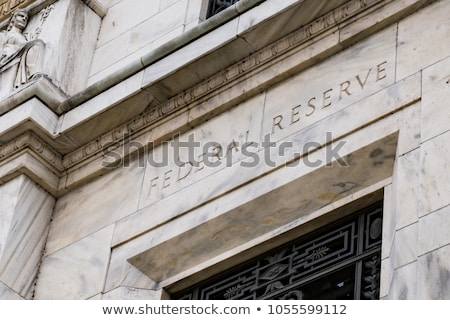 Federaal reserve bank gebouw Washington DC USA Stockfoto © Qingwa