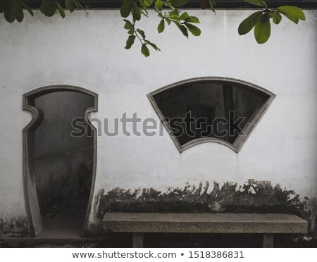 toit · tuiles · isolé · blanche · ville · construction - photo stock © magraphics